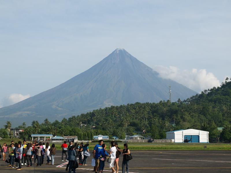 Mayon vulcano